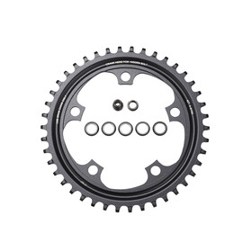 SRAM X-Sync Klinge aluminium 11-speed sort